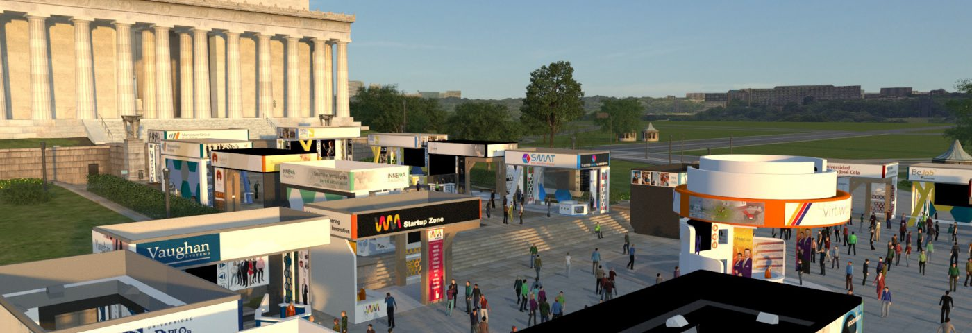Virtway Events and the 3D virtual events platform