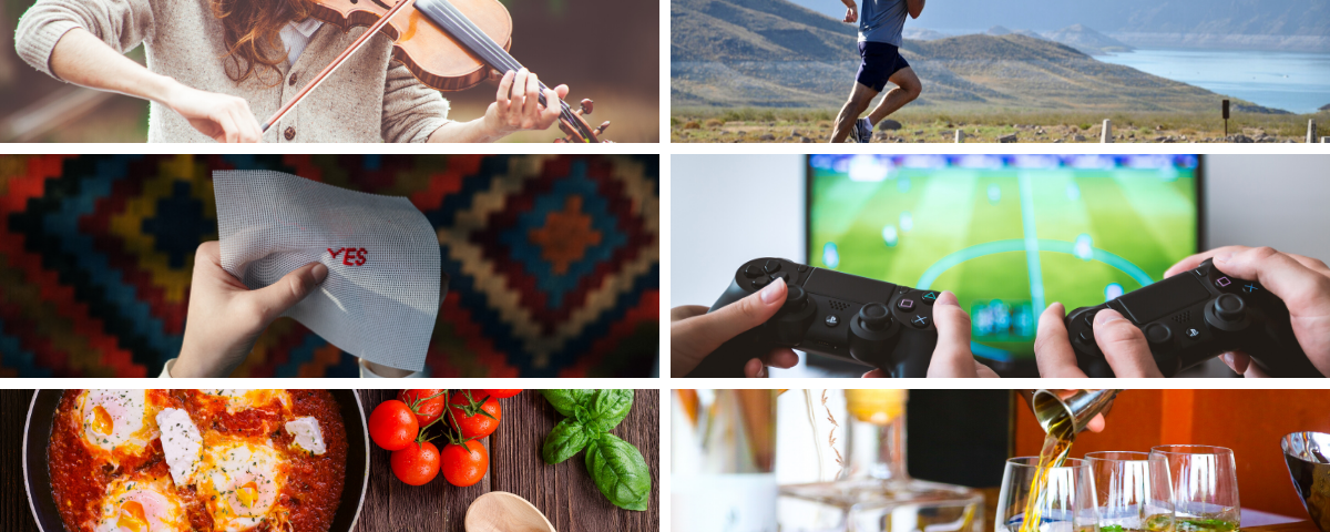 Hobbies and activities we've picked up during isolation
