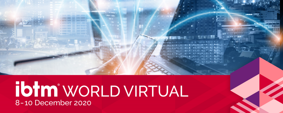 IBTM World Virtual 2020 goes live in a week